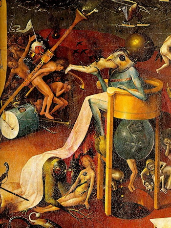 Garden of Earthly Delights [detail] by Hieronymus Bosch